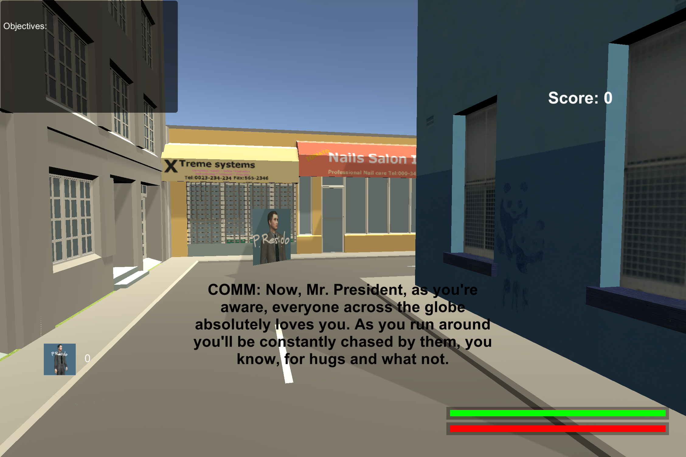 Presidential Escape Screenshot